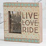 Primitives by Kathy Horse Theme Box Frame - Live Love Ride