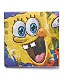 American Greetings 645416369787 SpongeBob SquarePants Lunch Napkins, Party Supplies Novelty (16-Count)