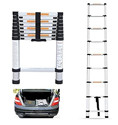 Xinxin Multifunctional Retractable Telescopic Extension Ladder 6061 Thick Aluminum Folding Telescoping Ladder Portable Bamboo Household Ladder Lift Safe