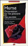 Dissertation sur les passions - Traité de la nature humaine livre II