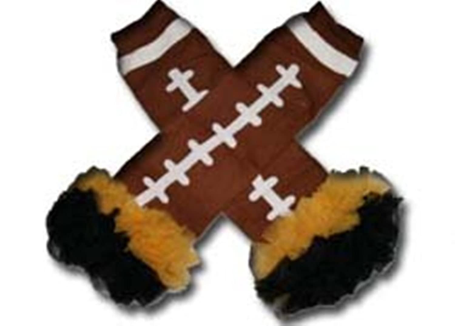 discount IOWA HAWEYES - Tutu Chiffon Ruffle Leg Warmers - AMERICAN FOOTBALL (TOUCH DOWN) for sale