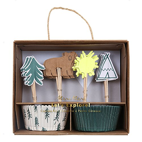 Meri Meri 45-2782 Let's Explore Cupcake Kit