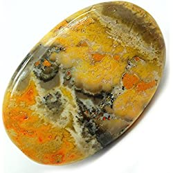 "Bumble Bee Jasper Cabochon (1-1/2"" -2"")"" Free Form - 1pc."
