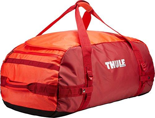 Thule Chasm 90L-Borsa da viaggio, colore: rosso