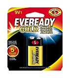 Health & Personal Care : EVEREADY 9V Battery, 9 Volt Alkaline (1 Count)