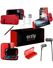 Orzly Ultimate Accessory Pack for Nintendo Switch (Please Select and Add to Cart Below)