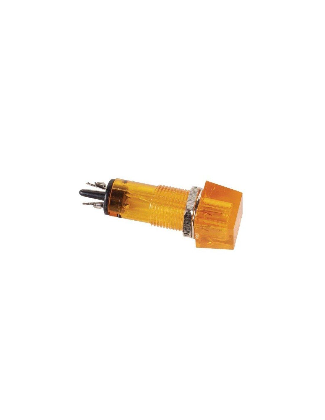 jaune Vs Electronic 124074/Neon Signal lampe 220/VAC