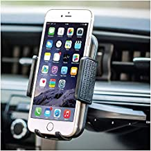 """Bestrix Universal CD Phone Mount Cell Phone Holder for Car Compatible with All Smartphones up to 6.5"""""""