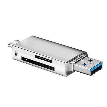 Javpoo Ultra Alta Velocidad 3 en 1 USB 3.0 Lector de ...