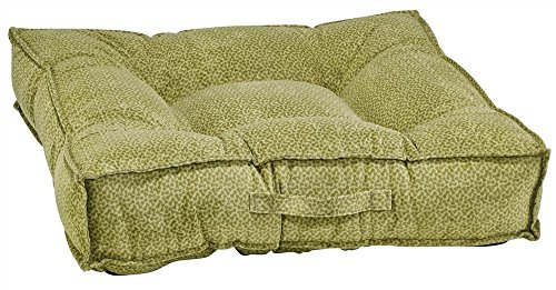 Piazza Apple - Bowsers Piazza Dog Bed, X-Large, Green Apple Bones
