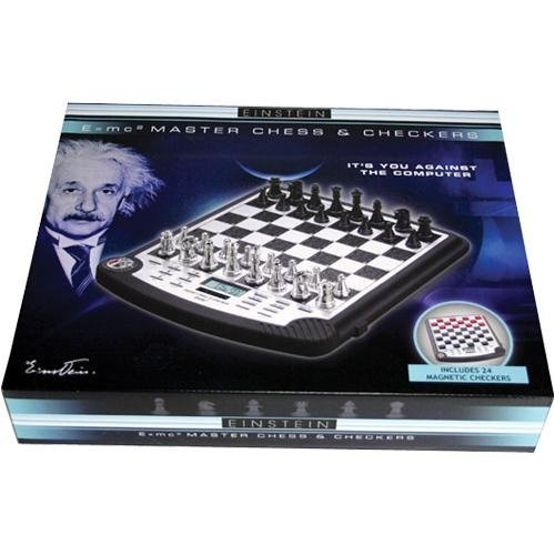 - Excalibur Electronic E951 Einstein Master 2 in 1 Chess and Checkers Computer