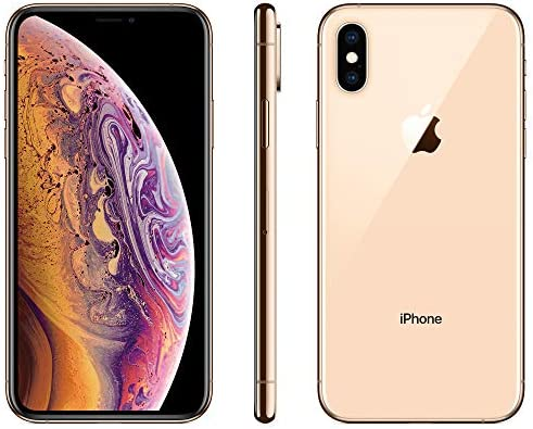 Apple iPhone XS, 64GB, Gold - For AT&T / T-Mobile (Renewed)