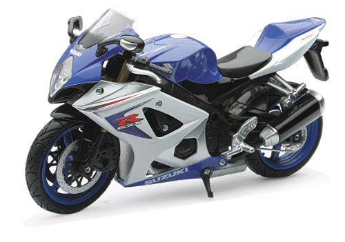 NewRay New Ray Motorcycles 1:12 2008 Suzuki Gsx-R R1000 Diecast (New Ray Diecast Motorcycles)