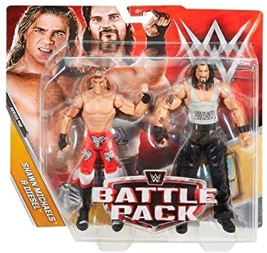 WWE Battle Pack Serie 48 Mattel Lucha Libre Acción Figuras - SHAWN MICHAELS & Big Daddy Cool Diesel Kevin Nash : Amazon.es: Juguetes y juegos