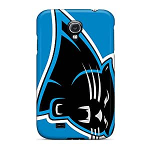 Samsung Galaxy S4 UgW425sqUf Provide Private Custom High-definition Carolina Panthers Series Shock-Absorbing Hard Phone Covers -JasonPelletier