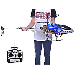 53 Inch Extra Large GT QS8006 2 Speed 3.5 Ch RC Helicopter Builtin GYRO Blue - 51f7wD04DxL - 53 Inch Extra Large GT QS8006 2 Speed 3.5 Ch RC Helicopter Builtin GYRO Blue