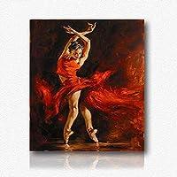 ZXJYH Moderno Minimalista Pittura Decorativa Moda Arte Bella Donna Modello Murale Astratto Portico Corridoio Puro Quadri Dipinti