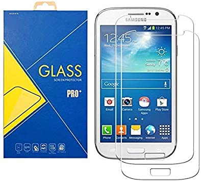 [2 Pack] Film Verre Trempé Samsung Galaxy Grand Neo / Grand Neo Plus ( GT-I9060 / I9060i / 9060 / I9080 / I9080i / 9080 ) - Protection contre chocs et ...