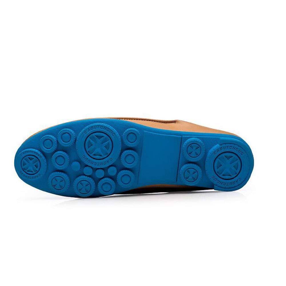 Hy Herrenschuhe, Mikrofaser-Sole Comfort Breathable Driving schuhe, Formal Formal Formal Business schuhe, Herren-Frühlingsscheren & Slip-Ons Lazy-Schuhe,b,43 31ca66