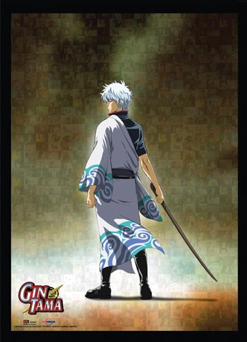 Great Eastern Entertainment Gintama Gintoki Wall Scroll, 33 by 44-Inch