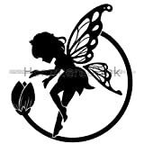 Tribal Fairy & Magic Flower 3 Die Cut Vinyl Car Decal Window Sticker
