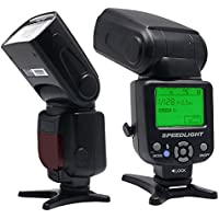 Venidice VD-930 Manual Professional Universal speedlite for Canon Nikon Panasonic Olympus Fujifilm Pentax and Other DSLR Digital SLR Film Cameras With Standard Hot Shoe …