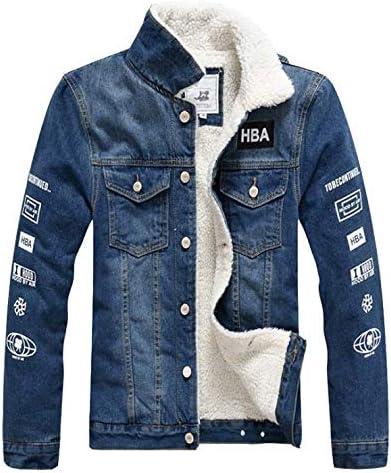 [Fashion tide]デニムジャケット メンズ 裏ボア ジージャン バイクジャケット 裏起毛 細身 厚手 ブルゾン ウォッシュ ユーズド 冬