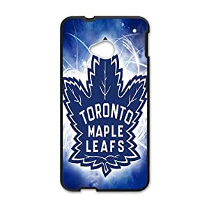 Happy Shiny blue Toronto maple leafs Cell Phone Case for HTC One M7