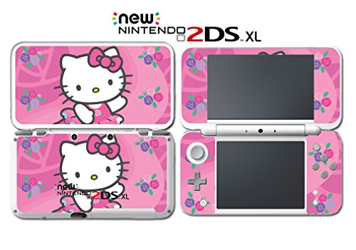 Cute Kitty Pink Flower Hearts Princess Video Game Vinyl Deca