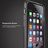 iPhone 6S Case, Caseology [Skyfall Series] Scratch-Resistant Clear Back Cover [Black] [Shock Absorbent] for Apple iPhone 6S (2015) & iPhone 6 (2014) - Black