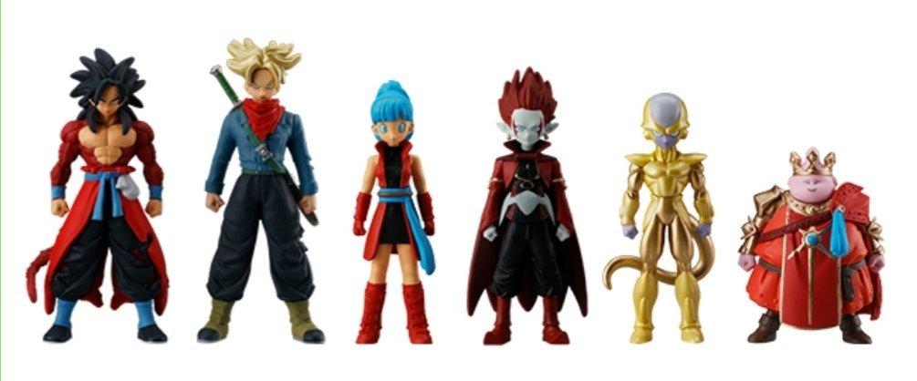 2-1 Super Saiyan 4 Goku Skills Figure 02 Super Dragon Ball Heroes Zeno