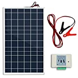 ECO-WORTHY 10W PV Polycrystalline Solar Panel System kit W/ 3A Charge Controller & 30A Battery Clips