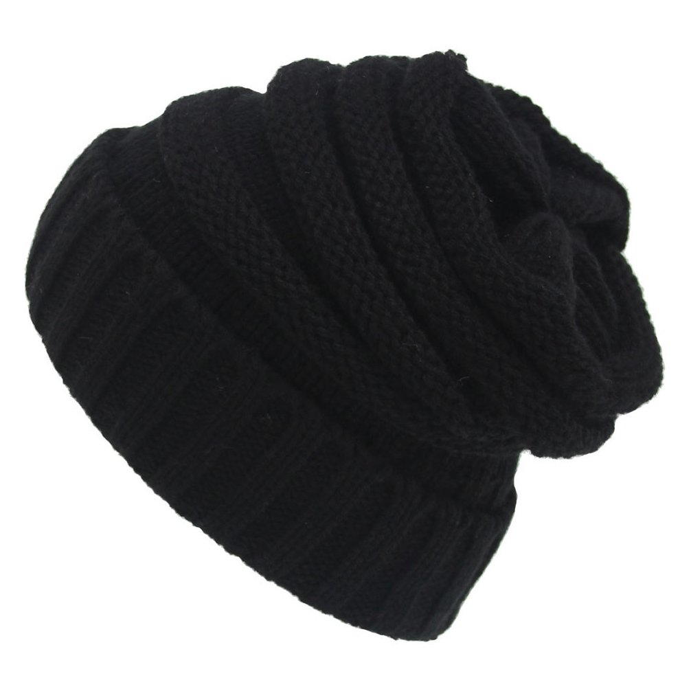 WETOO Women's Winter Beanie Hat Slouchy Kint Oversized Skully Cap