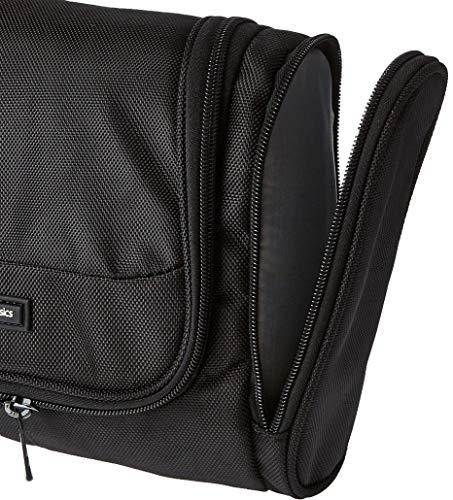 51f8%2Bq9mksL - AmazonBasics Hanging Travel Toiletry Kit Bag - Black