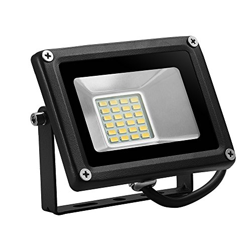 Coolkun 20W 12V LED Flood Lights, Warm White AC/DC IP65 Waterproof ,2000lm Outdoor &Indoor Security Floodlight