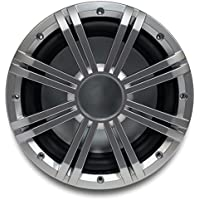 Kicker 10 2-ohm Marine Subwoofer with included Silver Grille.