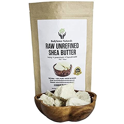 Pure Raw African Premium Shea Butter Helps Condition & Soften Skin by BodySense Naturals. Our Better Shea Butter can be used Alone or in DIY Lotion, Soap, Body Butters, Eczema & More! 1 lb (16 - African Shea Butter Shampoo