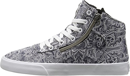 Supra Women's Cuttler Grey/Pattern/White Sneaker 8.5 B - Medium