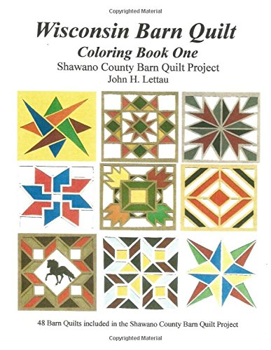 Amazon.com: 1: Wisconsin Barn Quilts Coloring Book One ... : barn quilts wisconsin - Adamdwight.com