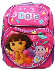 Full Size Pink Dora the Explorer and Boots Pose Kids Backpack