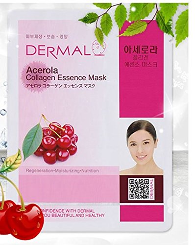 Dermal Korea Collagen Essence Full Face Facial Mask Sheet Pa