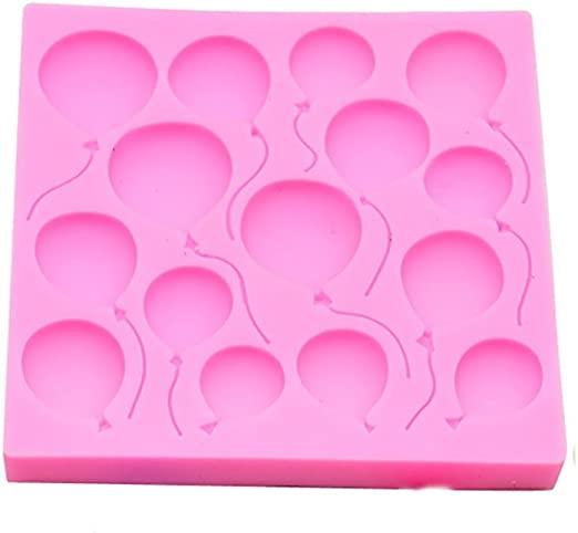 Many Balloons Silicone Cake Mould Fondant Sugar Craft Chocolate Decorating Tools
