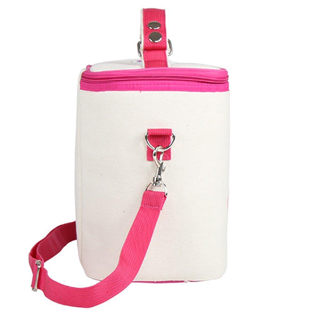 Amazon.com: aosobs bolsa de almuerzo térmica bolsa de comida ...