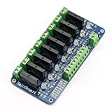 SainSmart 8-Channel 5V Solid State Relay Module Board for Arduino Uno Duemilanove MEGA2560 MEGA1280 ARM DSP PIC