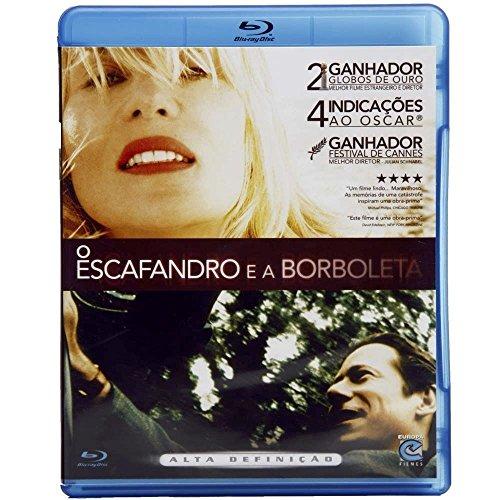 Blu-ray O Escafandro e a Borboleta / Le Scaphandre et Le Papillon [ The Diving Bell and The Butterfly ] [Brazilian Edition]