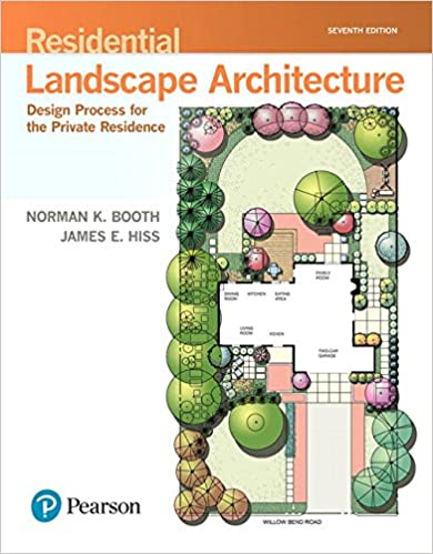 Residential Landscape Architecture Design Process For The Private Residence 7th Edition Whats New In Trades Technology