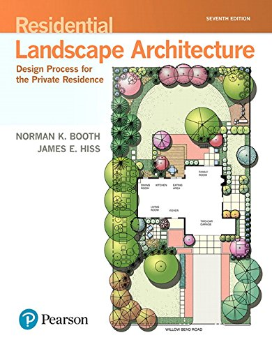 Residential Landscape Architecture: Design Process for the Private Residence (7th Edition) (What's New in Trades & Technology) by Pearson