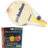 Pro Kadima Paddle Set Plus Replacement Smash Balls Bundle Set of 4 Paddles with 2 balls, Plus 6 Replacement Smash Balls!