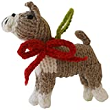 Chilly Dog Boxer Dog Ornament