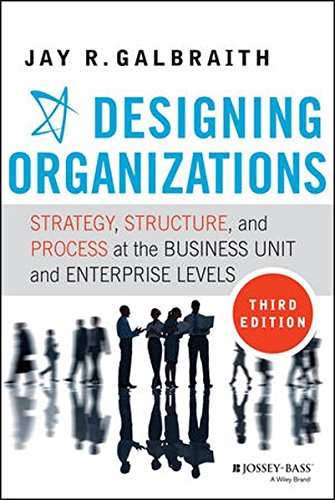 Designing Organizations  Strategy  Structure  And Process At The Business Unit And Enterprise Levels